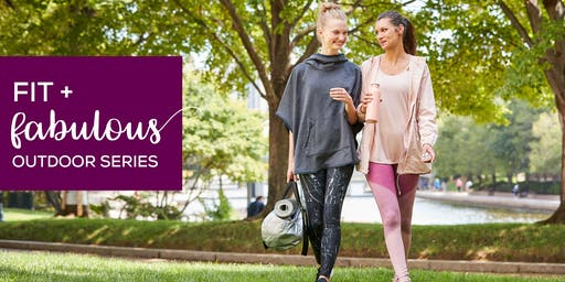 Fit + Fabulous Outdoor Series at CambridgeSide featuring Barre3