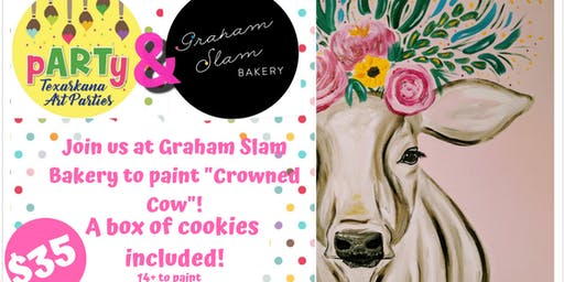 Crowned Cow at Graham Slam Bakery
