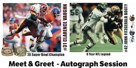 NFL Meet & Greet - Autograph Session tickets