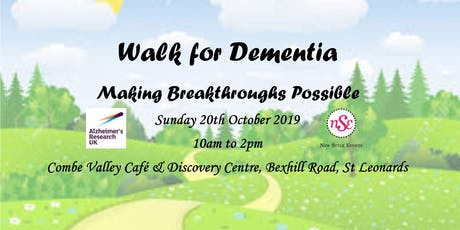 Walk for Dementia tickets