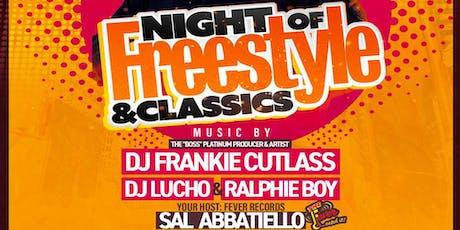 ERA Friday's With Dj Frankie Cutlass -- Dj Lucho & Ralphie Boy @ The Copacabana NYC Rooftop tickets