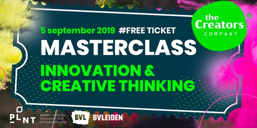 MASTERCLASS Innovation & Creative Thinking