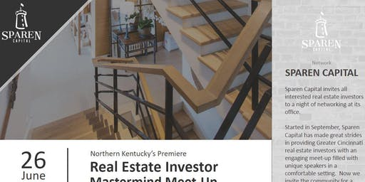 Northern Kentucky Real Estate Mastermind Meet-up Open to All Investors