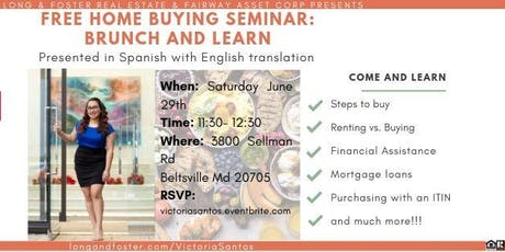 Home Buying Seminar: Brunch & Learn tickets