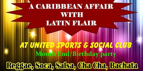 *CARIBBEAN AFFAIR WITH A LATIN FLAIR tickets