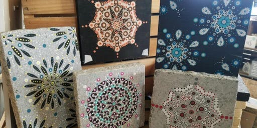 SOLD OUT! Mandala Making Class at Stone & Pallet™ Two for $30!