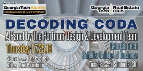 Decoding Coda: A Panel by the Portman Design and Development Team tickets