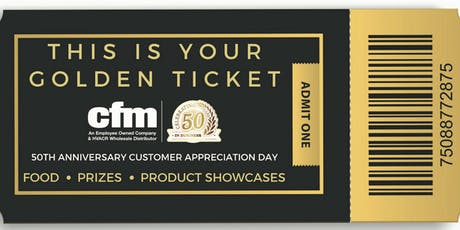 cfm's 50th Anniversary Customer Appreciation Day - Wichita tickets