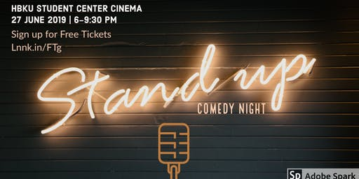 SOLD OUT! Stand Up Comedy Night | June 27