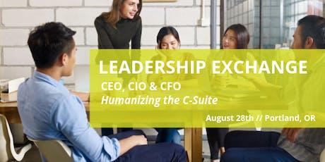 Humanizing the C-Suite | CEO, CFO & CIO LEX tickets