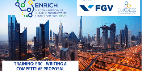 TRAINING ENRICH in Brazil: ERC - WRITING A COMPETITIVE PROPOSAL (Sao Paulo) tickets
