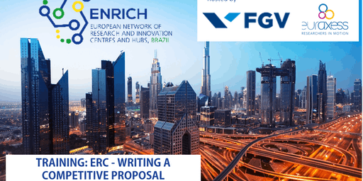 TRAINING ENRICH in Brazil: ERC - WRITING A COMPETITIVE PROPOSAL (Sao Paulo)
