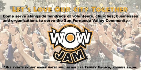 San Fernando WOW JAM 2019 tickets
