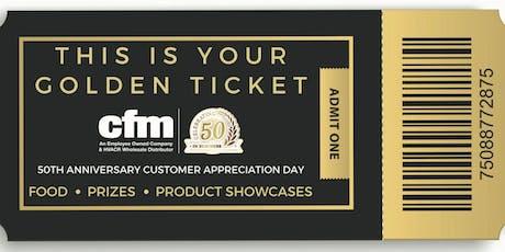 cfm's 50th Anniversary Customer Appreciation Day - Lenexa tickets