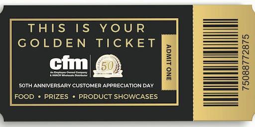 cfm's 50th Anniversary Customer Appreciation Day - Lenexa