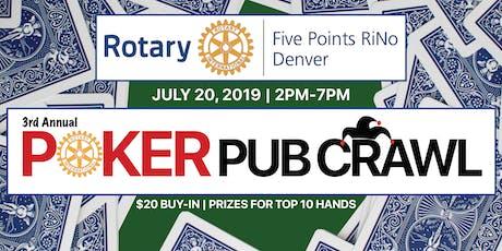 Five Points Poker Pub Crawl tickets
