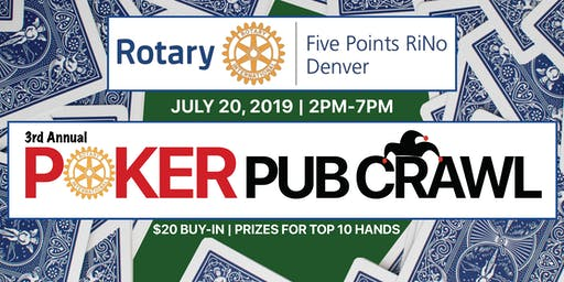 Five Points Poker Pub Crawl