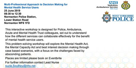 Multi-Professional Approach in Decision Making for Mental Health Service Users  tickets