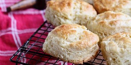 SWEET & SAVORY SERIES: Buttermilk Biscuits tickets