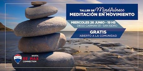 Taller gratuito de Mindfulness: Meditación y Sonidos  entradas