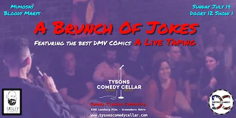 Tysons Comedy Cellar presents A Brunch Of Jokes [stand-up comedy taping event] tickets
