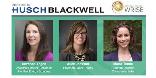 WRISE Colorado Energy Policy Panel