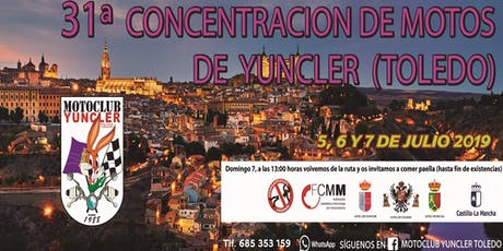 31 CONCENTRACIÓN MOTERA DE YUNCLER (TOLEDO) entradas