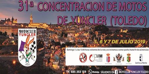 31 CONCENTRACIÓN MOTERA DE YUNCLER (TOLEDO)