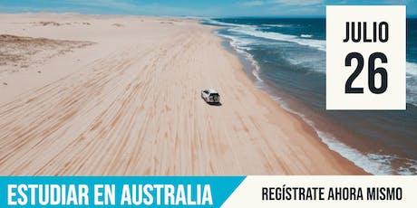 Estudiar en Australia entradas