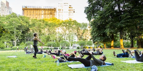 #ChiChiSweatSesh - Barre + Yoga in Central Park to benefit SaveTheReef tickets