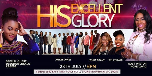 His Excellent Glory Concert