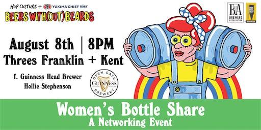 Hop Culture x Guinness Present: Women's Networking Bottle Share