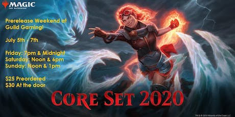 Core Set 2020 Prerelease - Friday at Midnight tickets