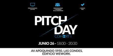 Cohort I Pitch Day | 4Geeks Academy Chile boletos