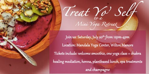 Yoga | Treat Yo' Self Mini Yoga Retreat