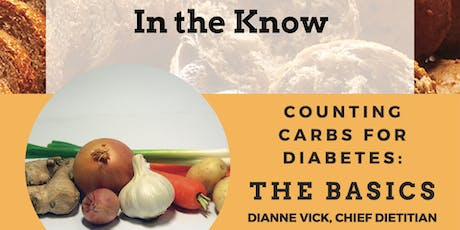 In the Know: Counting Carbs for Diabetes tickets