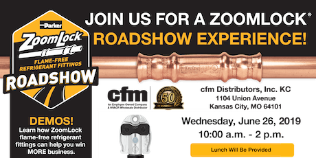 DON'T MISS OUT! Join us for a ZoomLock®️ Roadshow Experience in KC!!!  tickets
