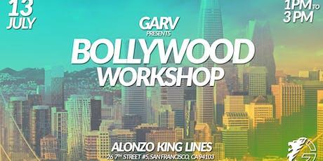 Garv presents: Bollywood Workshop - SAN FRANCISCO tickets