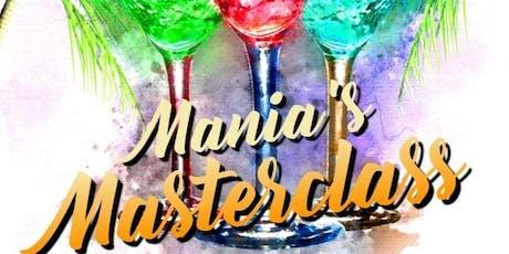 Mania's Masterclass tickets