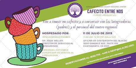 CAFECITO ENTRE NOS - 11 DE JULIO DE 2019 tickets