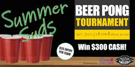 Summer Suds Beer Pong Tournament tickets