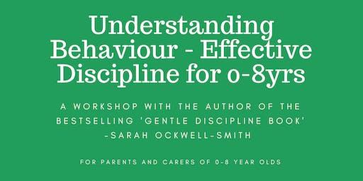 NOTTINGHAM: Understanding Behaviour - Effective Discipline for 0-8yrs