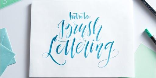 Modern Calligraphy Brush Lettering