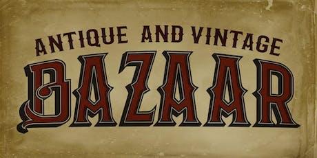 VIP Reception & First Purchase Opportunity- Scottish Rite Antique & Vintage Bazaar tickets