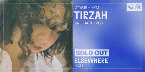Tirzah @ Elsewhere (Hall)