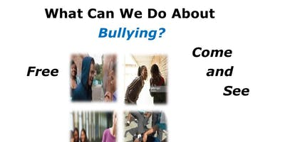Be A Part of the Solution/Bullying Awareness Skit