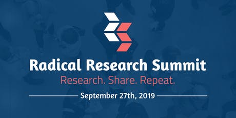 Radical Research Summit 2019 tickets