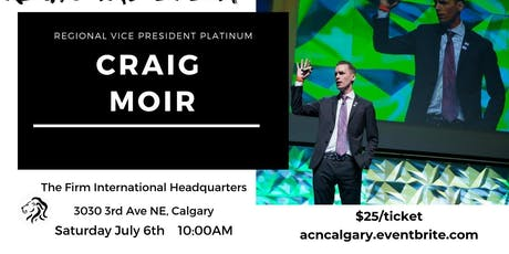 Canada Pre-Launch Event With RVP Craig Moir July 2019 tickets