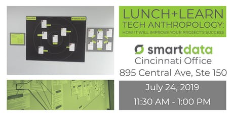 Lunch+Learn:  Tech Anthropology: How it will improve your project's success tickets