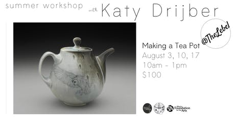 Making a Tea Pot with Katy Drijber tickets